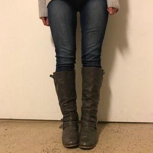 Carlos Santana Tall Riding Boots Size 8.5